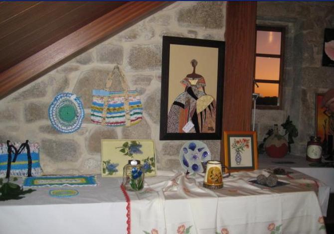 """Esposición de Manulidades, """"Festa do Viño 2009"""""""